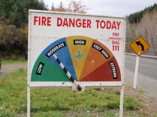 New Zealand Fire Danger scale
