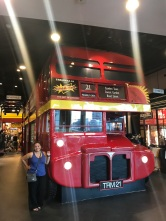 A brief stop in London!
